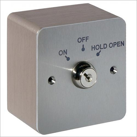 3 x 3 Stainless Steel Key Switch
