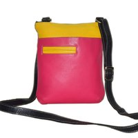 Multi Color Leather Crossbody Sling Bag