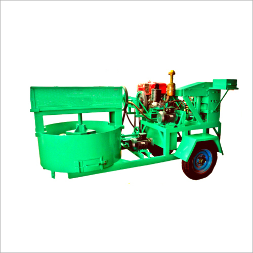 Dual Operated Fly Ash Brick Machine