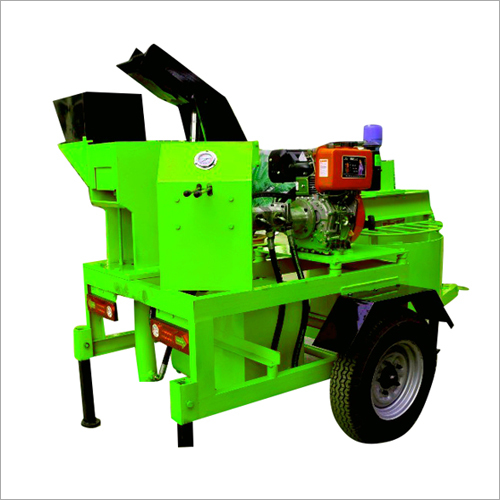Diesel Operated Fly Ash Brick Machine