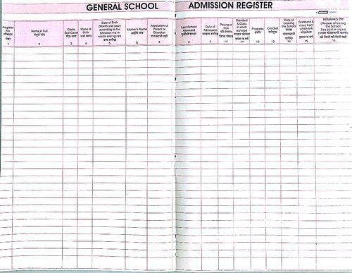 Oswal Staff Attendance Register