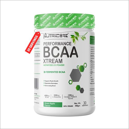 BCAA 7000 Amino Acid INSTANTIZED 2:1:1 POWDER  (GREEN APPLE)