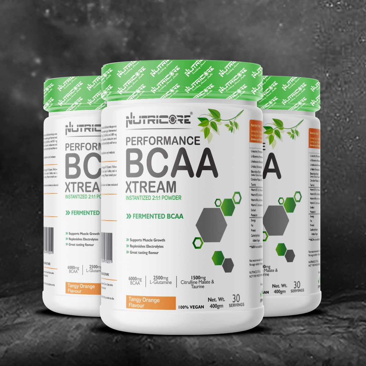 BCAA 7000 Amino Acid INSTANTIZED 2:1:1 POWDER (ORANGE)