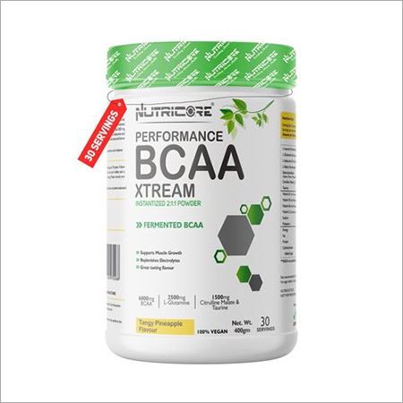 Nutricore BCAA Xtream INSTANTIZED 2:1:1 POWDER (PINEAPPLE)