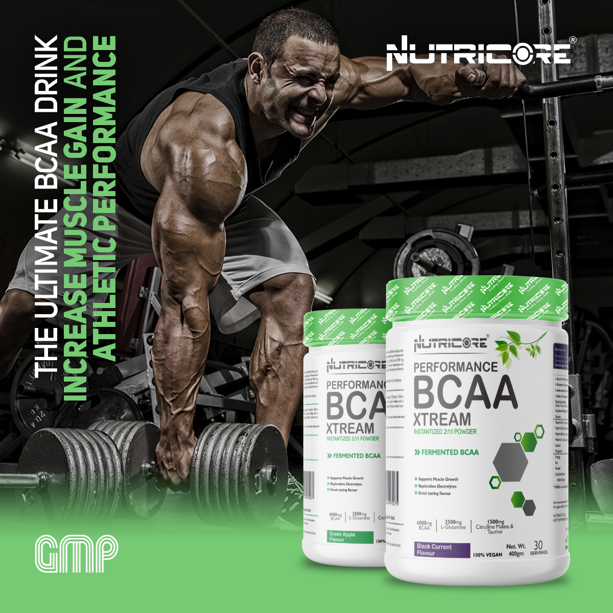 BCAA Xtream INSTANTIZED 2:1:1 Powder (Watermelon)