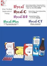 Calcitriol + Calcium Carbonate  (eq to elemental Calcium ) + Zinc Sulphate Monohydrate (eq to elemental Zinc)