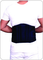 ORTHO LUMBO SACRAL BELT (BLACK)