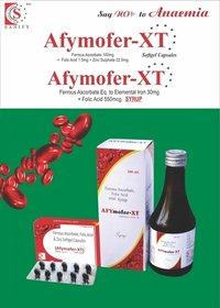 Ferrous Ascorbate 100mg ++ Folic Acid 1.5mg + Zinc Sulphate Monohydrate 22.5mg