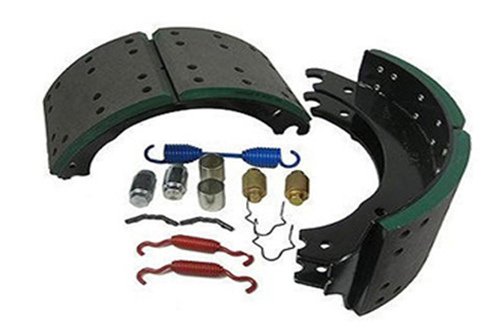 Lined Brake shoe with kit