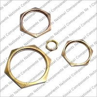 BRASS HEXAGONAL LOCK NUT