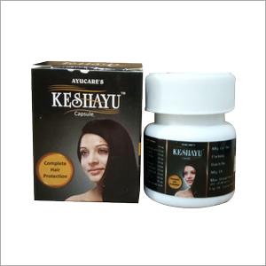 Ayurvedic Hair Tonic Keshayu Capsule For Healthy Hair Growth & Hair Loss