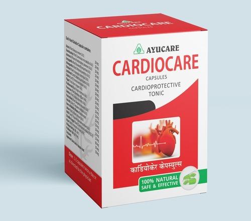 Ayurvedic Heart Care Cardiac Tonic  Cardiocare Capsule