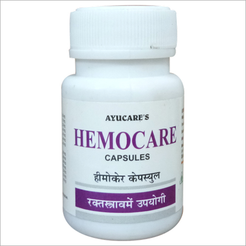 Ayurvedic Hemostatic Medicine (To stop non specific bleeding)