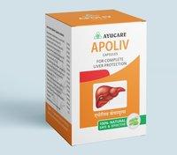 Ayurvedic Liver Tonic Apoliv Capsule For Jaundice & Liver Cirrhosis
