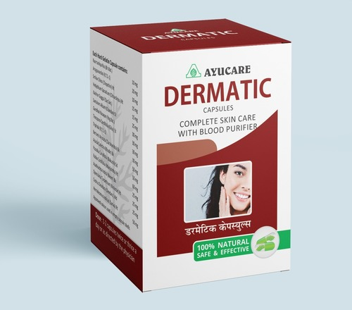 Ayurvedic Blood Purifier Dermatic Capsule
