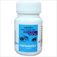 Ayurvedic Eye Care Tonic Naynamrit Capsule For Good Eyesight & Eye Protection