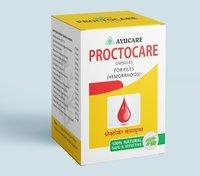 Ayurvedic Piles Relief Proctocare Capsule For Hemorrhoids (Bleeding Piles)