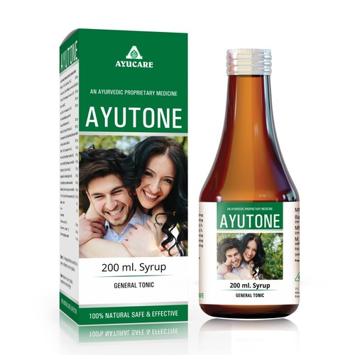 Herbal Family Health Tonic Ayutone syrup General tonic