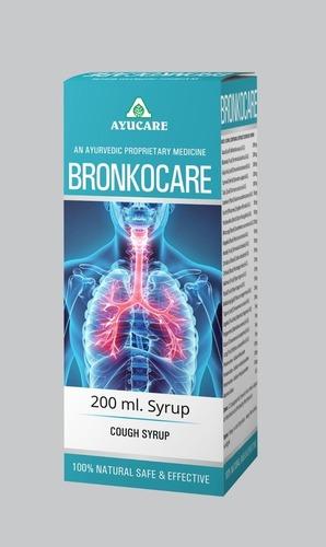 Ayurvedic Cough Syrup Bronkocare syrup