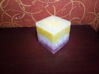 Handmade Granite Candle