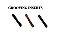 GROOVING INSERTS