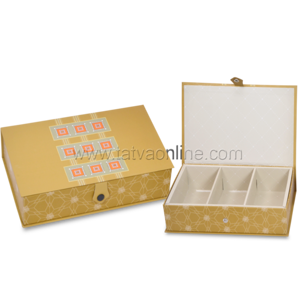 Gold Dry fruit Boxes