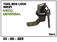 Tool Box Lock W/Key