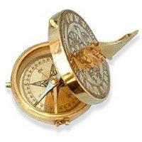 Brass Pocket Sundial