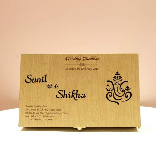 Wooden Wedding Box