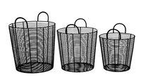 Black Storage Basket