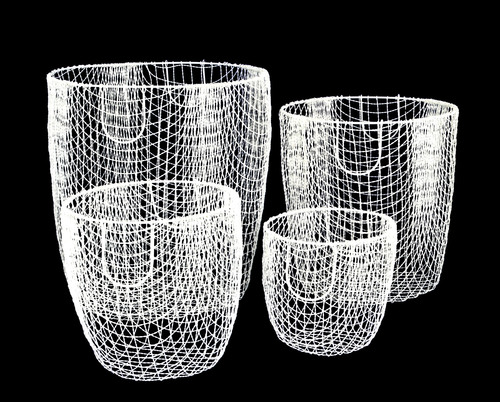 Iron Wire Weaving Storage Basket