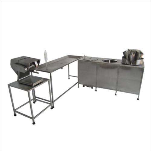 Chicken Cutting Machine Cabinet Plant