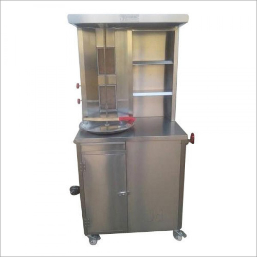 Shawarma Machine Double Burner Deluxe