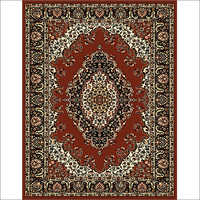 Maharaja 601 Coffee Synthetic Carpet
