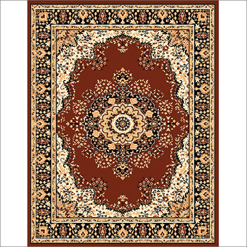Maharaja 605 Coffee Synthetic Carpet