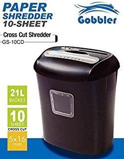 Gobbler GS10CD Paper Shredding Machine