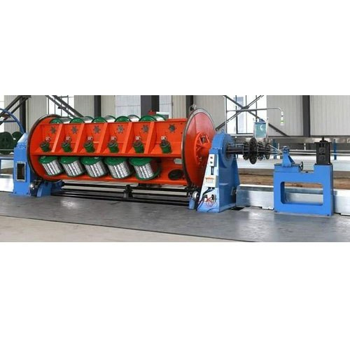 Electric Cable Armouring Machine