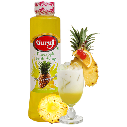 Pineapple Fruit Syrup