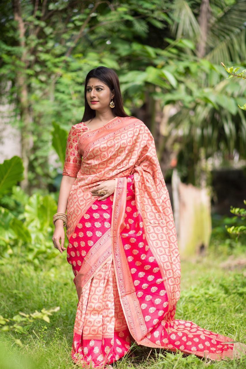Pure 100% Tussar Silk