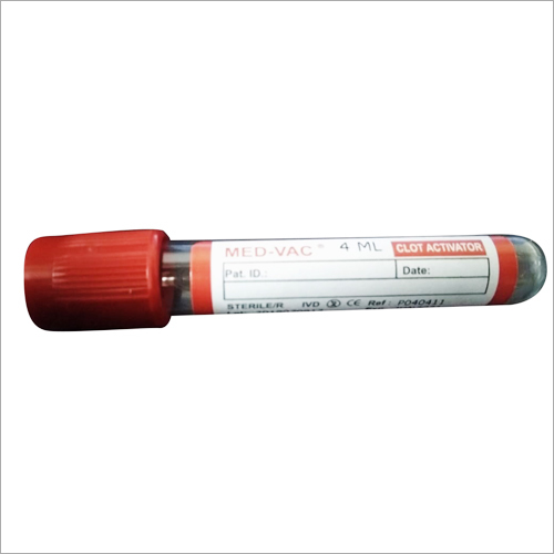 Non-Vacuum Clot Activator Blood Collection Tube