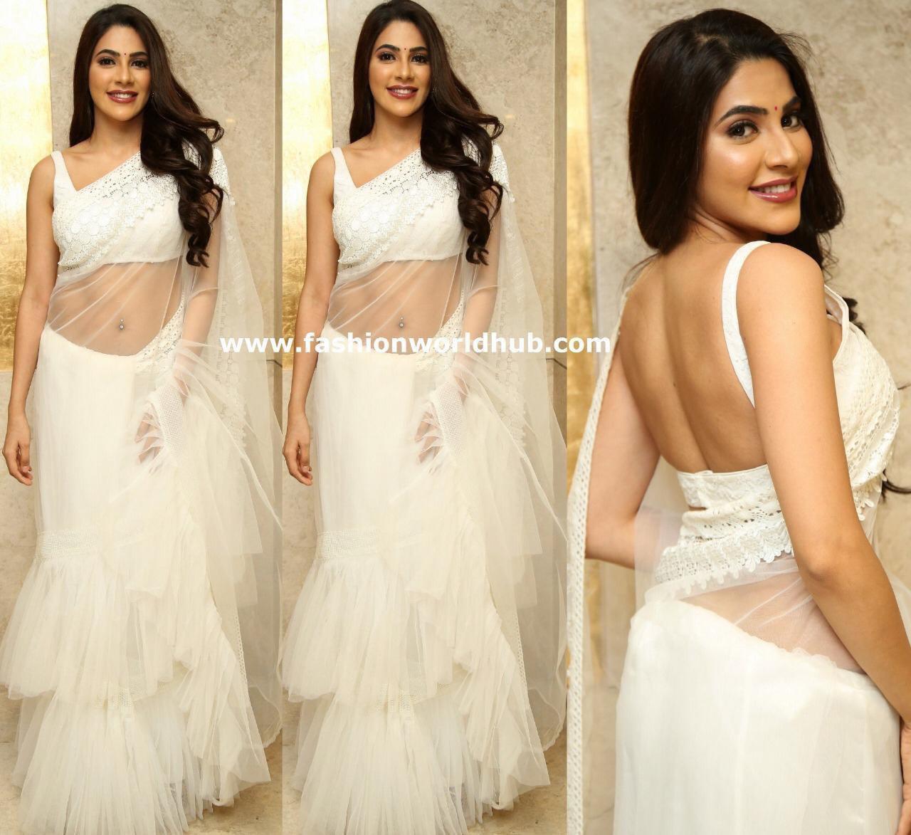 Fancy Designer Party Wear Net Saree