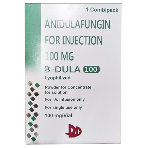 100 mg Anidulafungin  For Injection