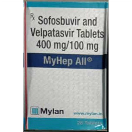400 mg-100 mg Sofosbuvir and Velpatasvir Tablets