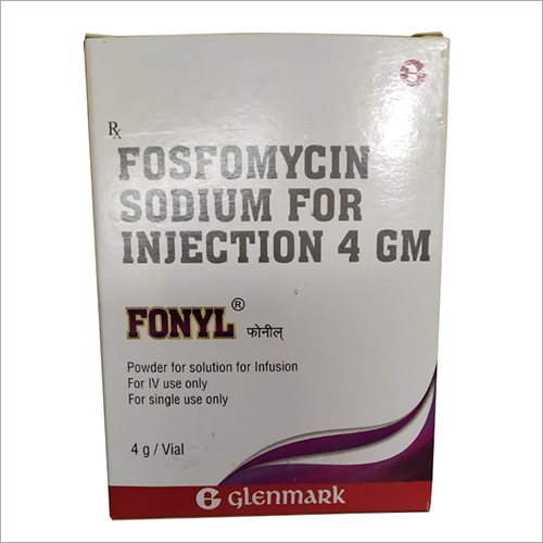 4 gm Fosfomycin Sodium for Injection