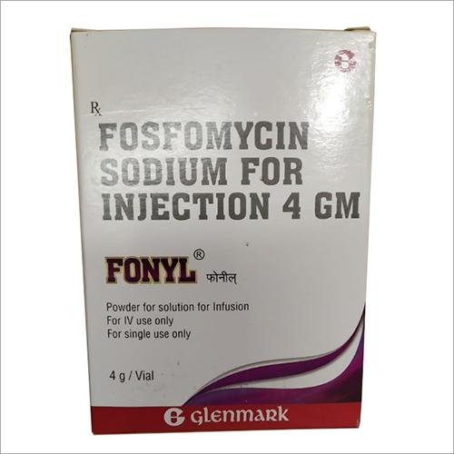 4 gm Fosfomycin Sodium for Injection