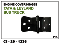 Engine Cover Hinges Tata & Leyland Bus, Truck