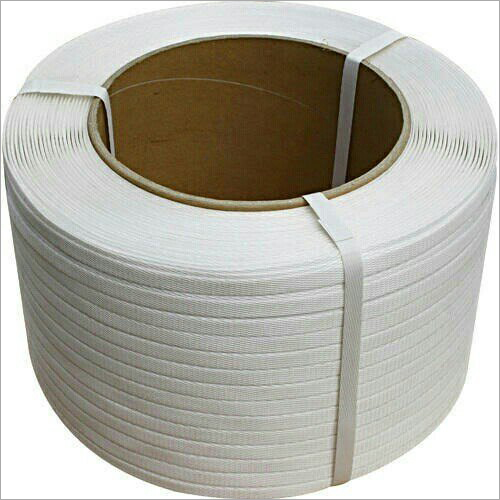 White PP Strapping Roll Patti