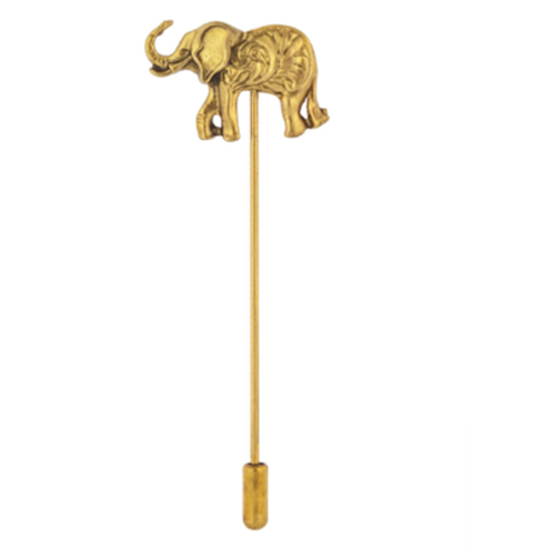 Golden Elephant  lapel pin