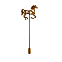 Golden Horse lapel pin