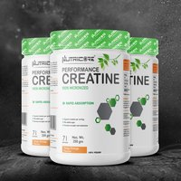 Nutricore Creatine powder 100% micronized Tangy Orange Flavour